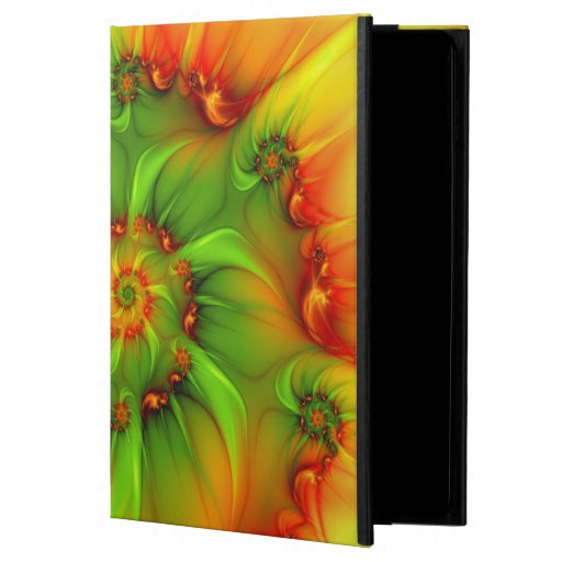 Psychedelic Colorful Modern Abstract Fractal Art Powis iPad Air 2 Case