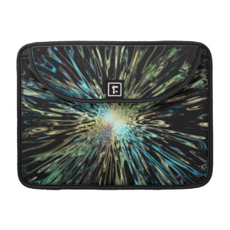 Psychedelic colorful sketch of the Big Bang Sleeve For MacBook Pro
