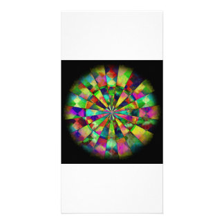 Psychedelic colors by Valxart.com Photo Greeting Card