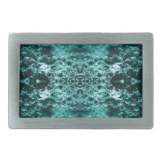 Psychedelic Coral Reef Symetry Rectangular Belt Buckles
