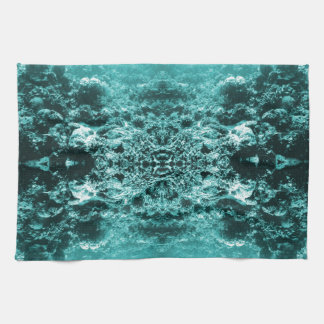 Psychedelic Coral Reef Symetry Towels