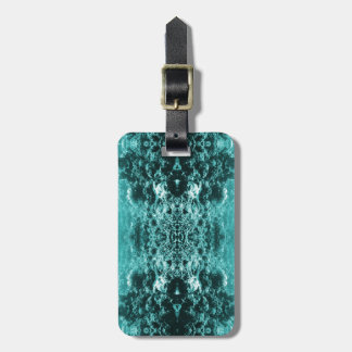 Psychedelic Coral Reef Symetry Luggage Tag