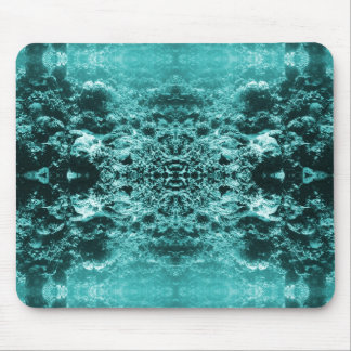 Psychedelic Coral Reef Symetry Mouse Pad