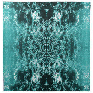 Psychedelic Coral Reef Symetry Cloth Napkins