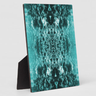 Psychedelic Coral Reef Symetry Photo Plaque