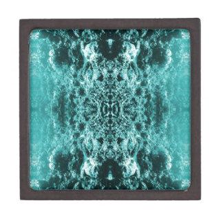 Psychedelic Coral Reef Symetry Premium Trinket Boxes