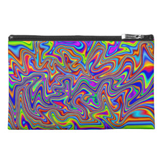 Psychedelic Cosmetic or Stuff Bag Travel Accessory Bags