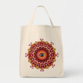 Psychedelic Cosmic Eye Mandala Bag