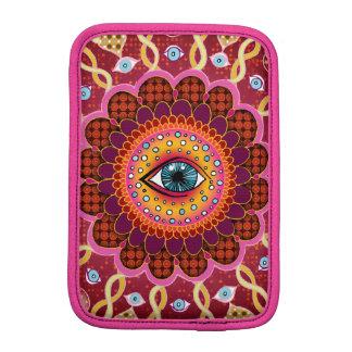 Psychedelic Cosmic Eye Mandala Sleeve For iPad Mini