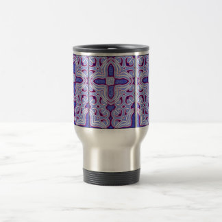 Psychedelic Cross Insulated Mug