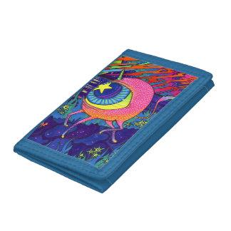 Psychedelic Cyclops Unicorn Wallet