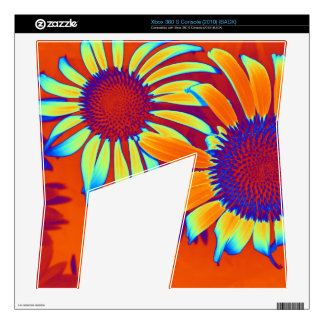 Psychedelic Daisies Xbox 360 S Skin