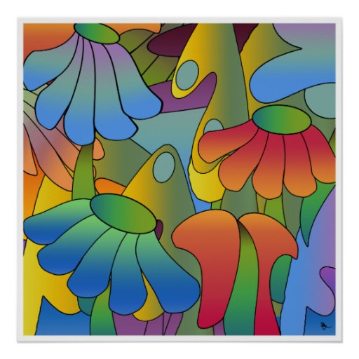 Psychedelic Daydream Poster