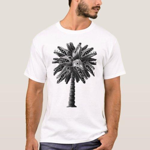 Psychedelic Dead Crocodile Tree T_Shirt