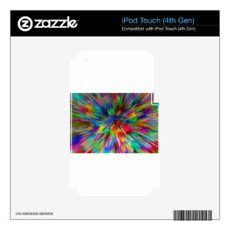 Psychedelic Decal For iPod Touch 4G