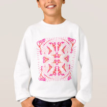 Psychedelic Decorative Patterns: Vector Art: Sweatshirt