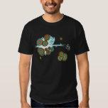 Psychedelic Derringer Vector T-Shirt