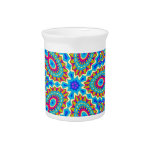 Psychedelic Design - Very Colorful Beverage Pitchers