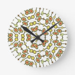 Psychedelic Design - Very Colorful Round Wallclock