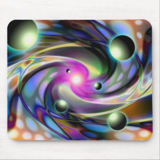 Psychedelic dimensions mousepad