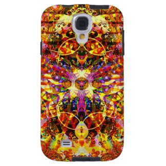 Psychedelic DMT Cool Cat Galaxy S4 Case