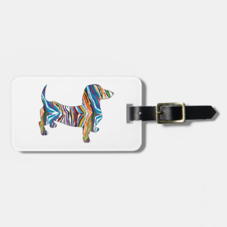 Psychedelic Doixe Bag Tag