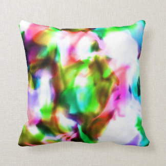 Psychedelic Dream Throw Pillow