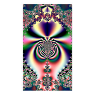 Psychedelic Dreams Fractal Business Card