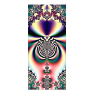 Psychedelic Dreams Fractal Rack Card