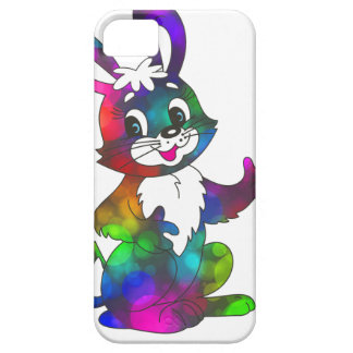 psychedelic easter bunny iPhone SE/5/5s case