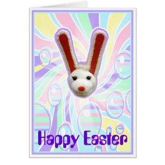 Psychedelic Easter Card