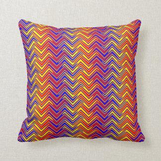 psychedelic edge throw pillows