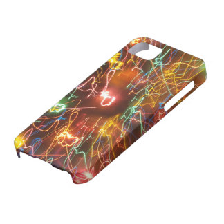 Psychedelic electric iPhone 5 cover