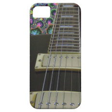 Psychedelic Electric Guitar Cases and Sleeves iPhone 5 Cases