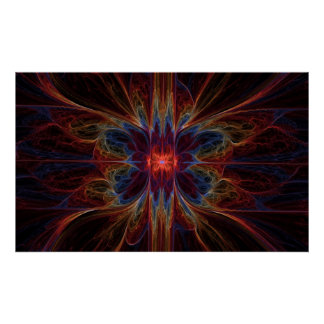 Psychedelic Emination - Poster