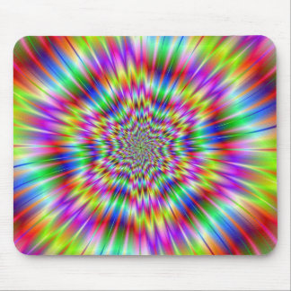 Psychedelic Explosion Mousepad