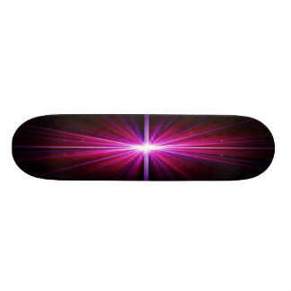 PSYCHEDELIC EXPLOSION PLASTIC SKATEBOARD