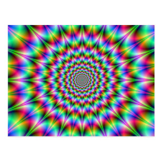 Psychedelic Explosion Postcard