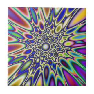 Psychedelic Explosion tile