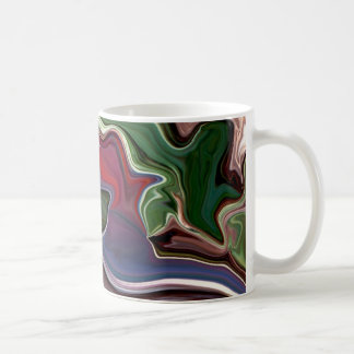 Psychedelic expressions deep dark colors mug