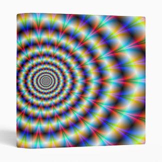 Psychedelic Eye 3 Ring Binder