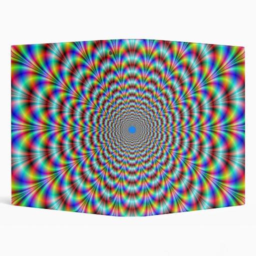 Psychedelic Eye Bender Binder