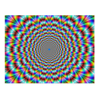 Psychedelic Eye Bender Postcard