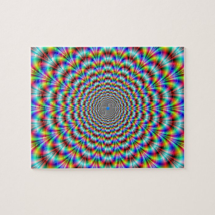 Psychedelic Eye Bender Puzzle