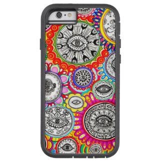 Psychedelic Eyes Art Tough Xtreme iPhone 6 Case