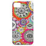Psychedelic Eyes Art Cover For iPhone 5/5S