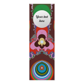 Psychedelic Eyes Business Card Template