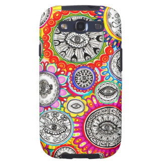Psychedelic Eyes Samsung Galaxy SIII Cases