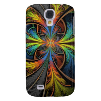 Psychedelic Feathers Samsung Galaxy S4 Cases