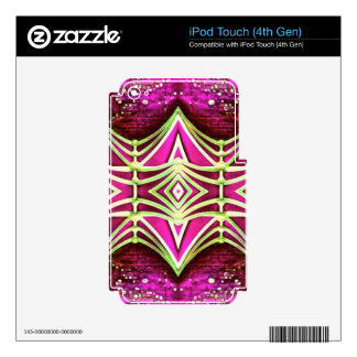 Psychedelic Festival Rave iPod Touch 4G Skins